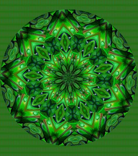 greencrystal mandala