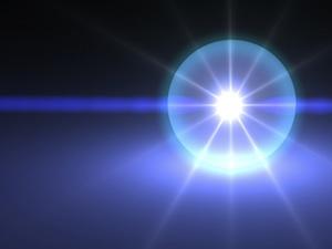 White Ball of Light