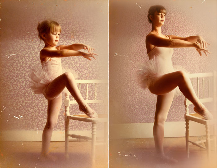ballerina before and after