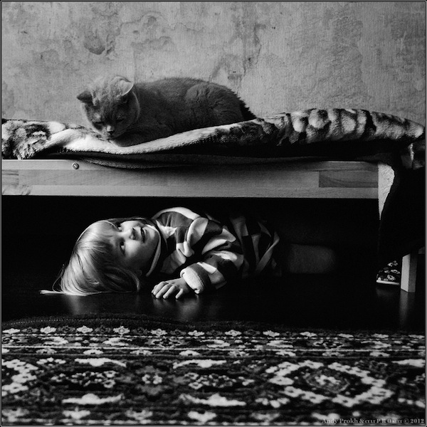 girl and cat2