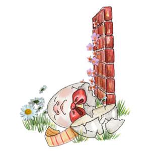 Humpty Dumpty had a great fall