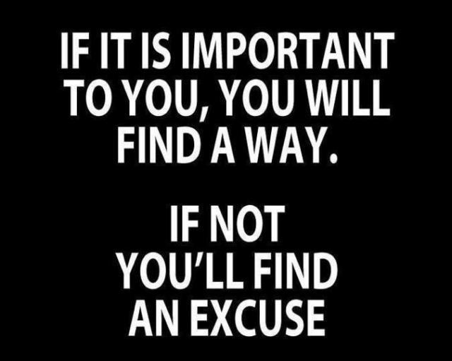 make-excuse
