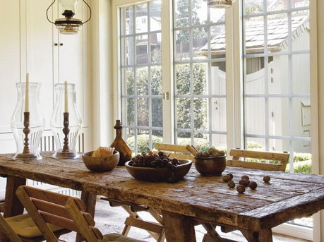 old-wooden-dining-table