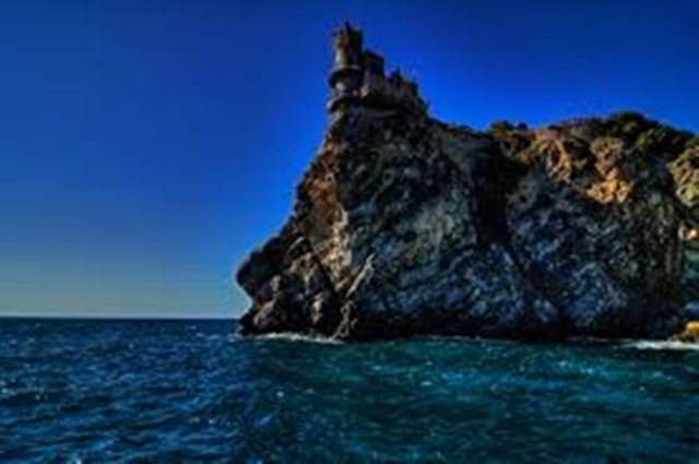 lighthouse on the edge