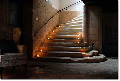 candle stairs
