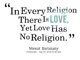 religion of love