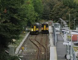 trains passing