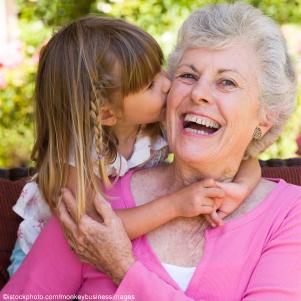 little-girl-kissing-grandmother-c